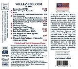 Bolcom: Music for Two Pianos: Recuerdos / Frescoes