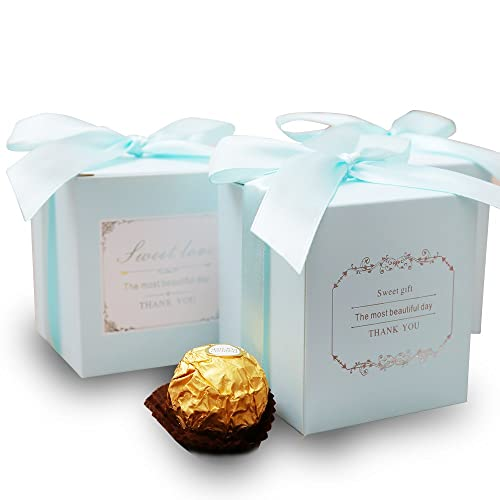 doris home 50 pcs birthday wedding party favor wedding gift bags chocolate candy and gift