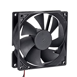 uxcell SNOWFAN Authorized 92mm x 92mm x 25mm 12V Brushless DC Cooling Fan 0408