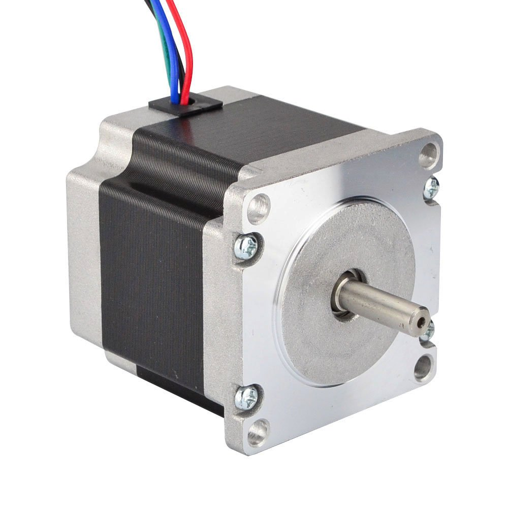 Nema 23 CNC Stepper Motor 2.8A 178.5oz.in/1.26Nm CNC Stepping Motor DIY CNC Mill by STEPPERONLINE (Image #4)