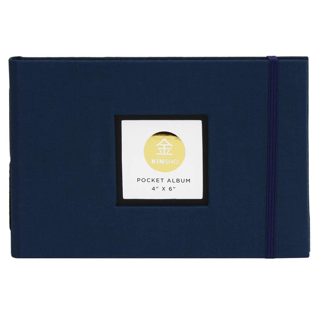 Kinsho KIN2205 Pocket Albums Stone 4 x 4