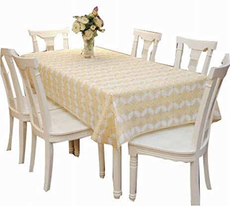 Elegant Waterproof Tablecloths Practical Table Linens Table Covers  [137180cm]