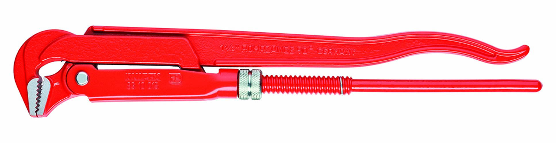 KNIPEX 83 10 015 90-Degree Swedish Pattern Pipe Wrench by KNIPEX Tools