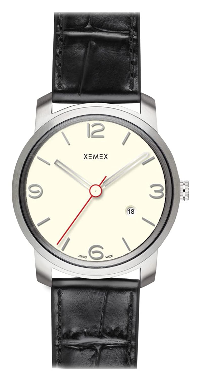 XEMEX Armbanduhr PICCADILLY QUARTZ Ref. 880.14 3 HANDS DATE
