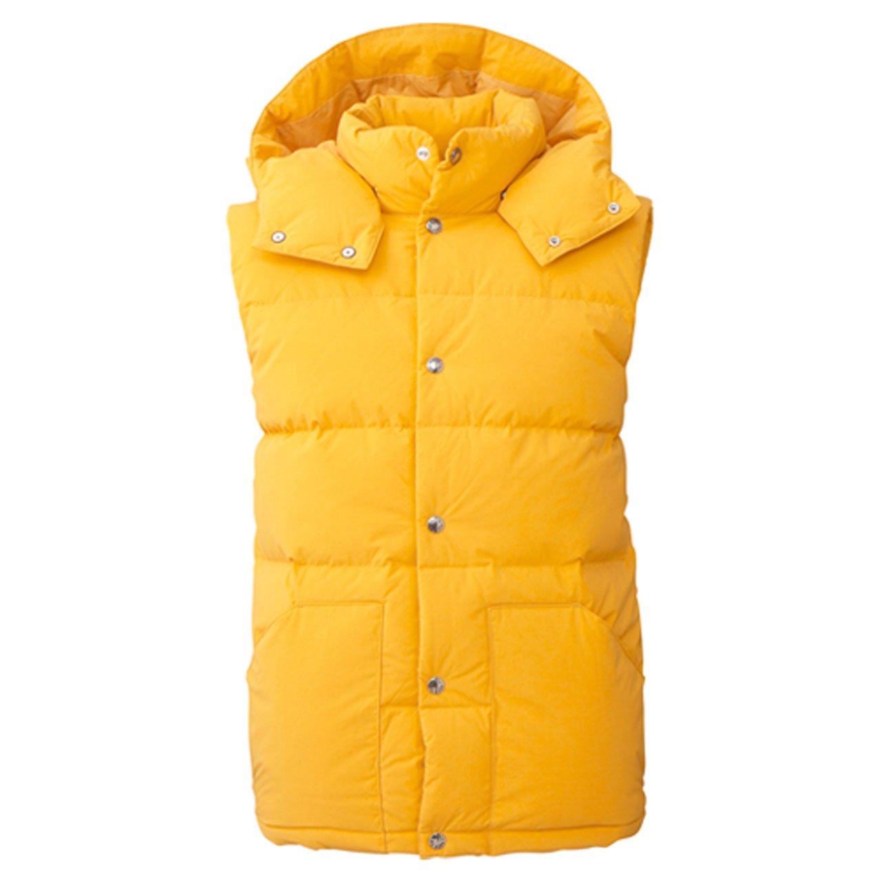 [ザ ノース フェイス] アウトドア ダウンベスト CAMP Sierra Vest [メンズ] ND91402 B00XKRI2QE XL|イエローフェンネル(YE) イエローフェンネル(YE) XL