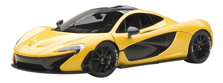 McLaren P1 Volcano Yellow 1 18 by Autoart 76021
