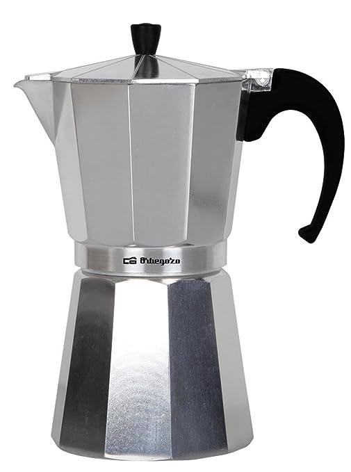 Orbegozo KF100 KF 100-Cafetera, 1 taza, Aluminio