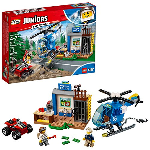 LEGO Juniors/4+ Mountain Police Chase 10751 Building Kit (115 Piece) (Lego Quad Bike)