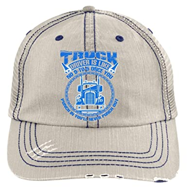aa3bad83 You'll Never Punch Out Hat, Truck Driver Trucker Cap (Trucker Cap ...