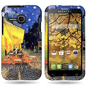 CoverON® Slim Hard Case for Alcatel One Touch Evolve with Cover Removal Tool - (Terrace Cafe)