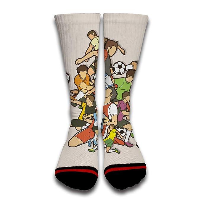 EbroSiempre Moda Calcetines de Algodón para Hombre y Mujer Transpirables Calcetines Gracioso de Negocios y Uso Diario White: Amazon.es: Ropa y accesorios