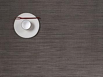 chile wich mini basketweave placemat light grey 36 x 48 cm