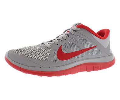5f2f85774098 Image Unavailable. Image not available for. Color  NIKE Free 4.0 V4 Men sRunning  Shoes Wolf Grey University Red Pure Platinum