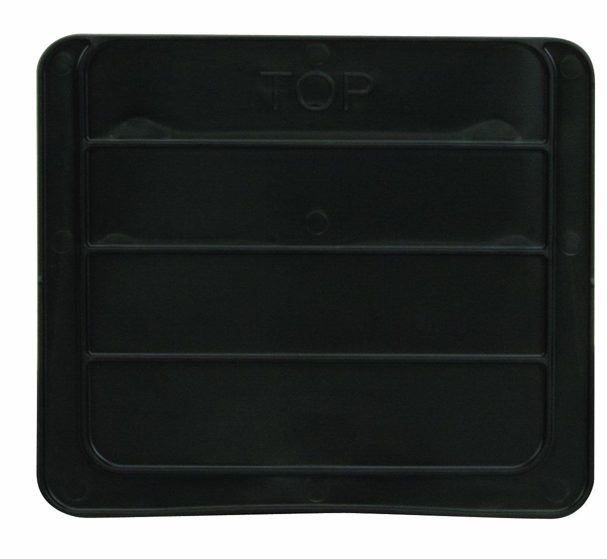 akro-mils 41289 Widthwise Divider 30289 SuperサイズAkroBin、2のパッケージ、ブラック B003FLLPN2