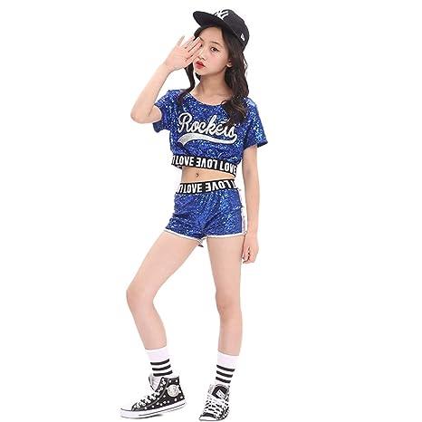 1c2e5b4e20db unbrand Costumi per Bambini Costumi per Cappotti di Paillettes per  Abbigliamento da Baseball di Hip-