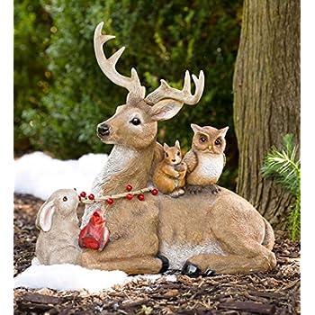 Buck and Friends Sculpture