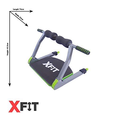 6 in 1 Exercise Machine For Core & Abs Home Gym Workouts XFit