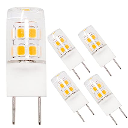 LED G8 Light Bulbs, 2.2W Halogen Xenon Replacement Bulb, G8.5 Bi