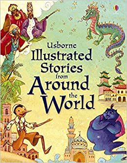 amazon illustrated stories from around the world lesley ed