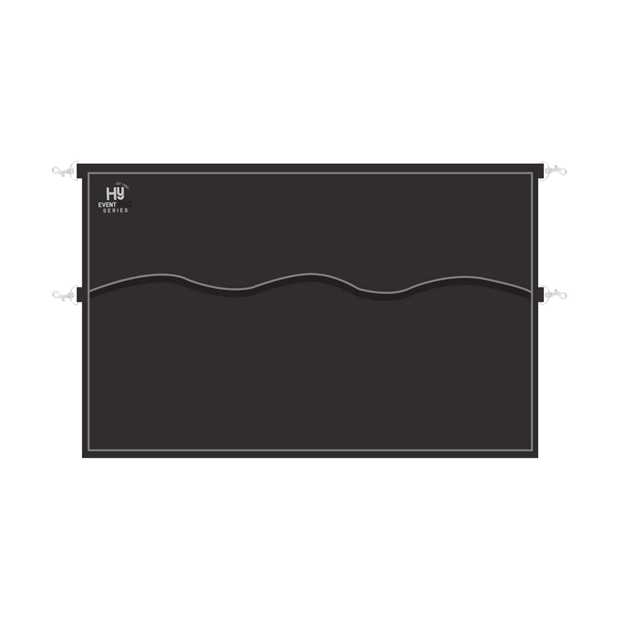 Hy Event Pro Series Stable Guard (23.5 x 37.5in) (Black/Charcoal) by Hy