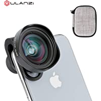 ULANZI Professional 16mm 4K HD Wide Angle Phone Camera Lens with CPL Filter DSLR Effect Mobile Lenses Attachment Compatible for iPhone iPad Xiaomi Redmi Oneplus Huawei P20 Pro Vivo Smartphones