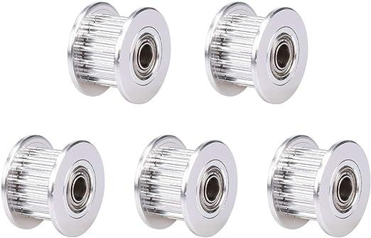 WINSINN 2GT GT2 - Polea de aluminio con correa de sincronización ...