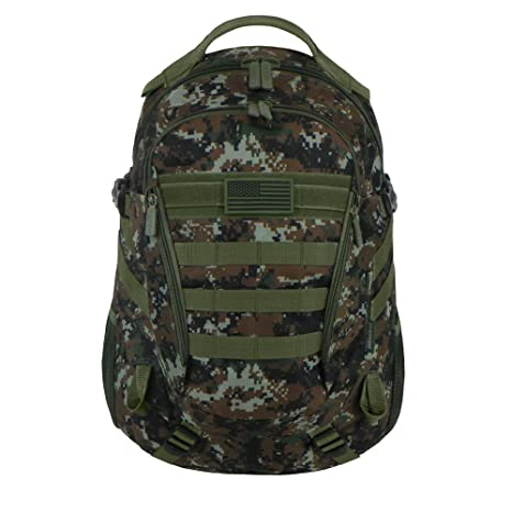 East West U.S.A RTC523 Tactical Multi-Use Molle Assault Military Rucksacks Backpack