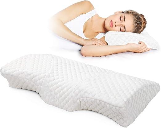 Head Neck Back Support Luxury Memory Foam Orthopaedic Pillow