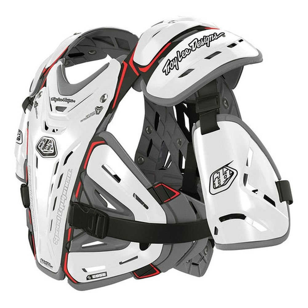 Troy Lee Designs Shock Doctor CP5955 Chest Protector (LARGE) (BLACK) 5200-0210