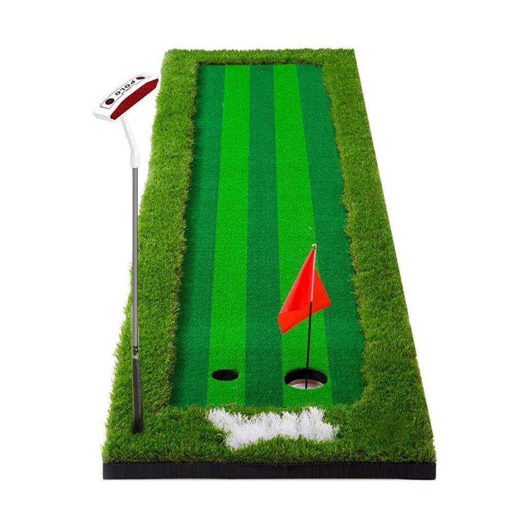 YD-パッティングマット ゴルフ屋内練習マットパット練習マット75×300cm /&   B07G2YTPFS