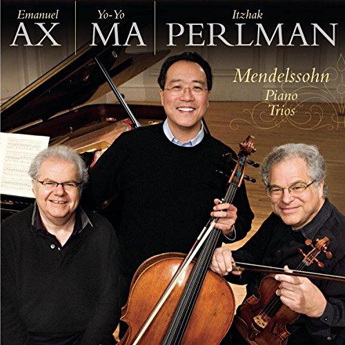 CD : Itzhak Perlman - Mendelssohn: Piano Trios Op 49 Op 66 (CD)