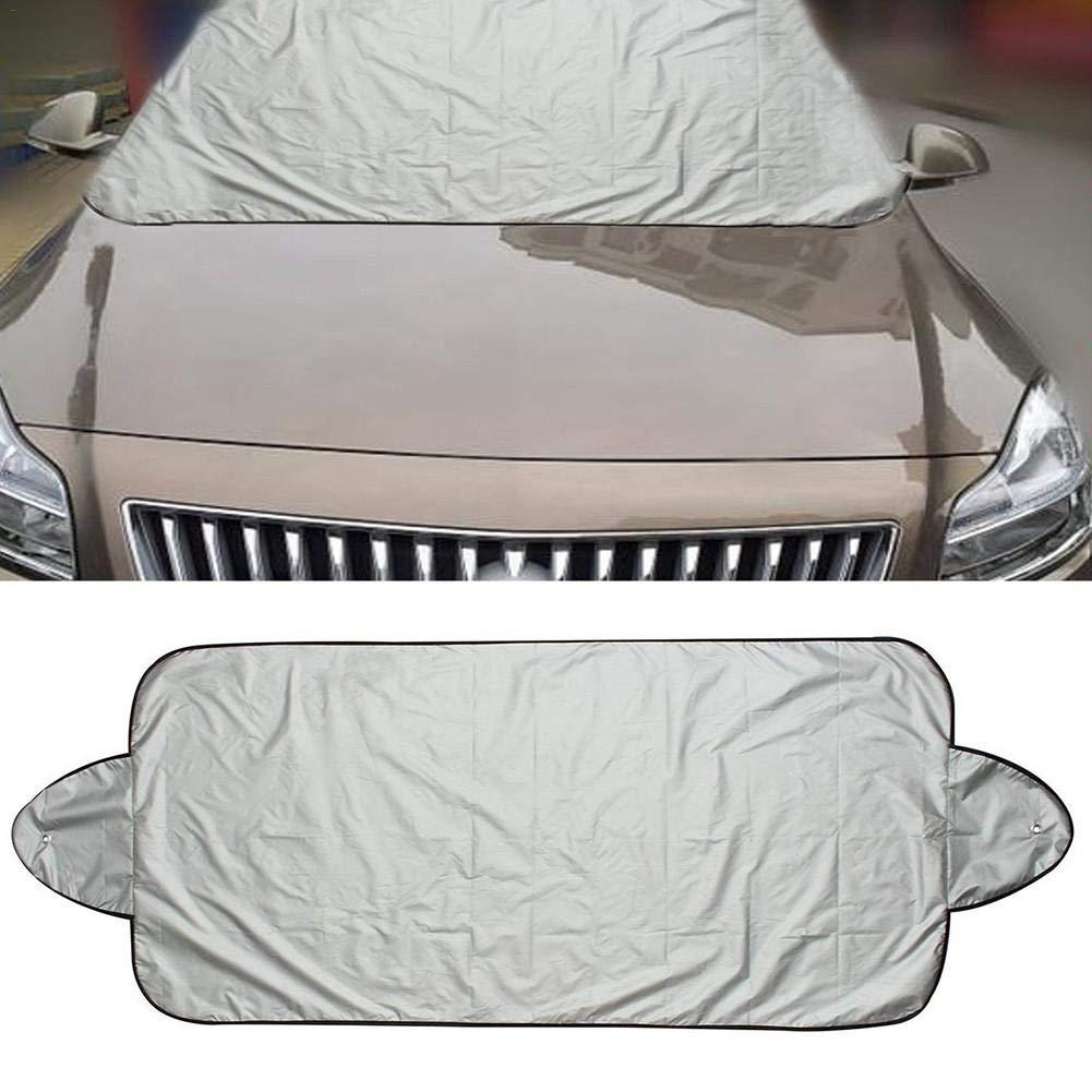 Bloomma Couverture Pare-brise Voiture Protection Magn/étique Pour Pare-brise De Voiture Universelle Pour Voiture Pare-soleil Protection UV Hiver B/âche Auto Hiver
