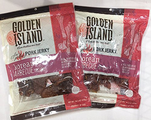 Golden Island Korean BBQ Pork 14.5 Ounce(Pack of 2) (Best Korean Bbq Marinade Recipe)