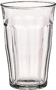 Duralex Made In France Picardie Tumbler Set of 6, 17.62 oz