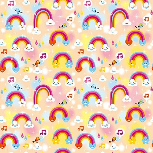 8x12 FT Birthday Vinyl Photography Background Backdrops,The Words Happy Birthday with Vivid Balloons Confetti Rain Blithesome Happy Day Background Newborn Baby Portrait Photo Studio Photobooth Props