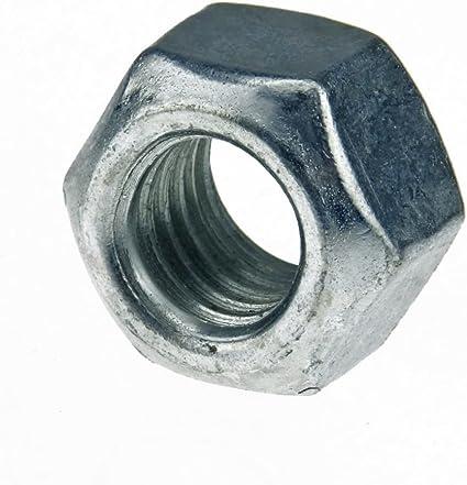 Stahl verzinkt 25 Stk DIN 980 Sicherungsmutter M8x1 Festigkeit 10
