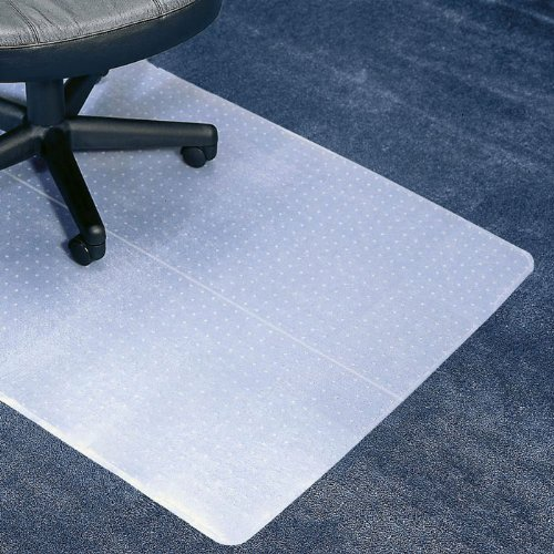 Anchormat Medium Pile Carpet Beveled Edge Chair Mat Size: 36