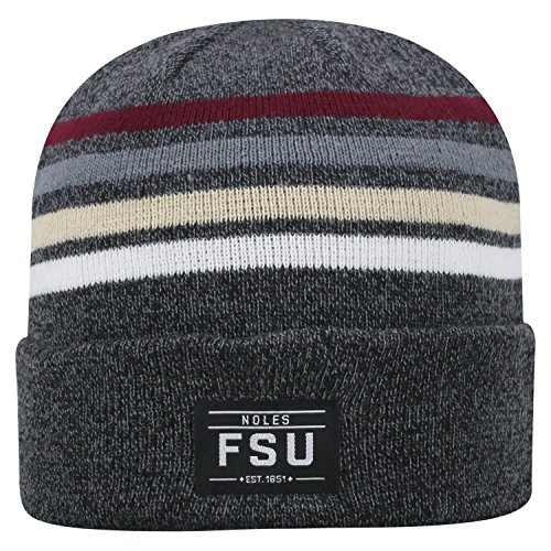 Top of the World Florida State Seminoles Official NCAA Cuffed Knit Upland Stocking Stretch Sock Hat Cap Beanie 464770 -