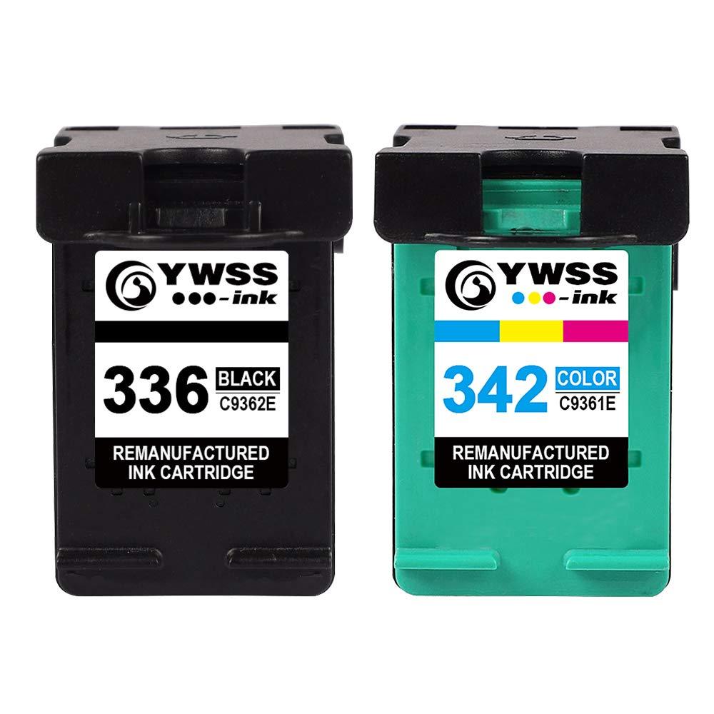 YWSS Remanufacturado Cartucho de Tinta para HP 336 HP 342 HP336 ...