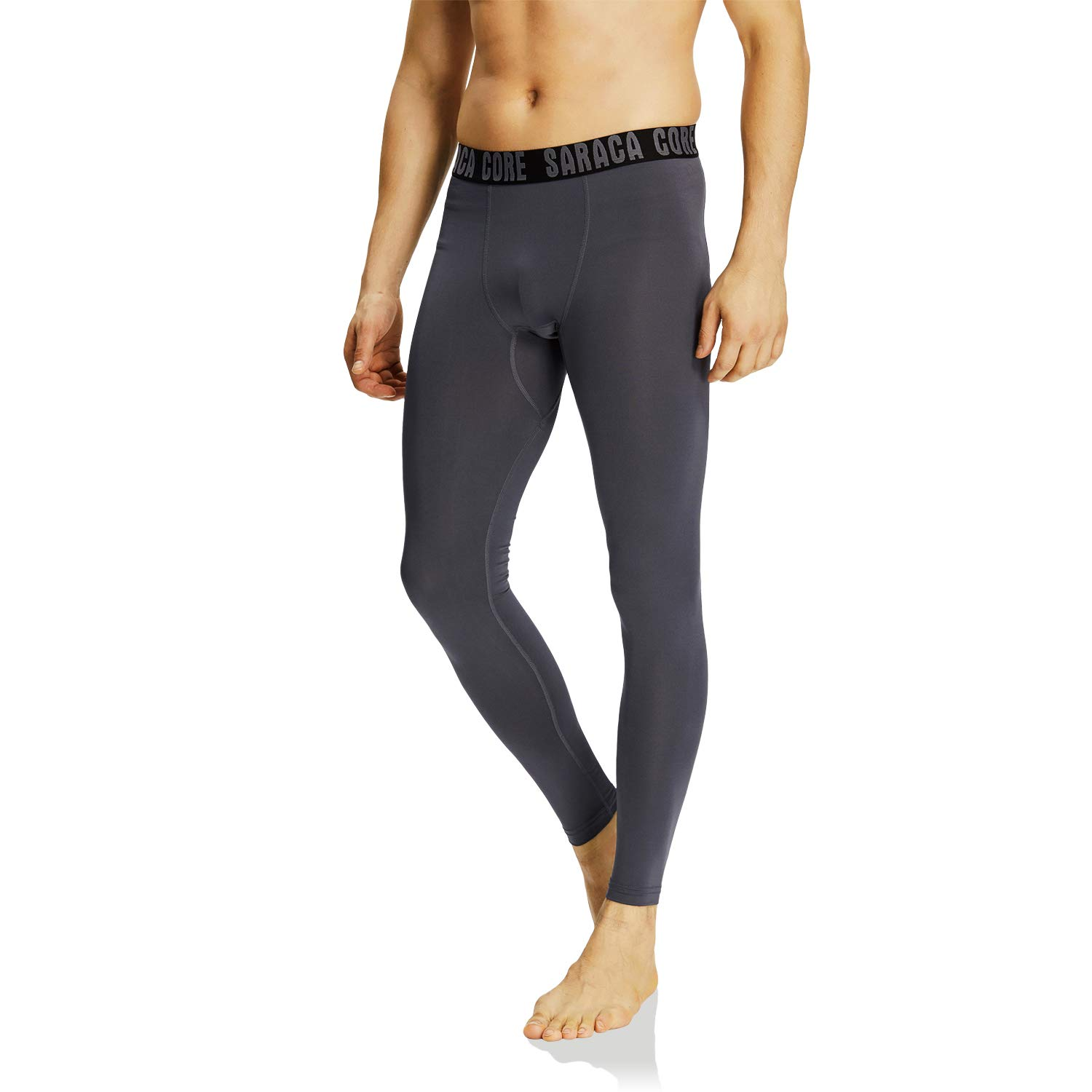saraca core Men Youth Compression Pants Athletic Tights Running Leggings Baselayer Cool Dry by saraca core