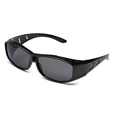 97b85d64d6892 Amazon.com  LVIOE Wrap Around Polarized Sunglasses