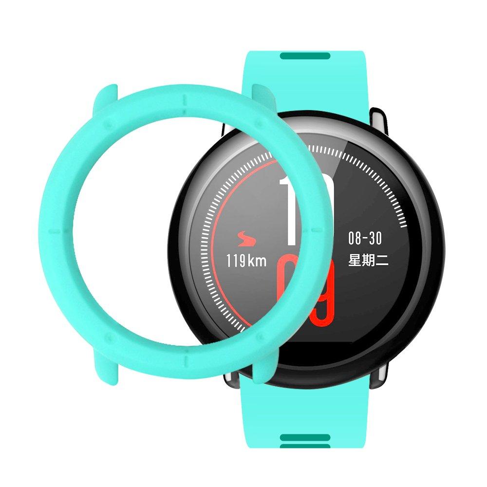SIKAI CASE Protector Funda Compatible con Huami Amazfit Pace Smart Watch Anti-Arañazos Ligero PC Moda Slim Colorido Marco Caso Cubierta de la Caja ...