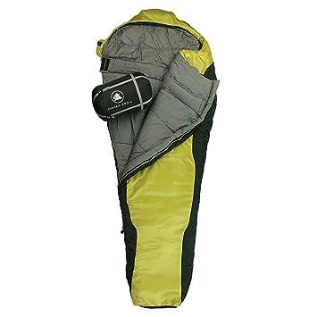 10T Outdoor Equipment 10T Innoko 350L Saco de Dormir de la Momia, Unisex, Negro, Estándar: Amazon.es: Deportes y aire libre