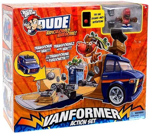 Spin Master Tech Deck Dude Vanformer Action Set