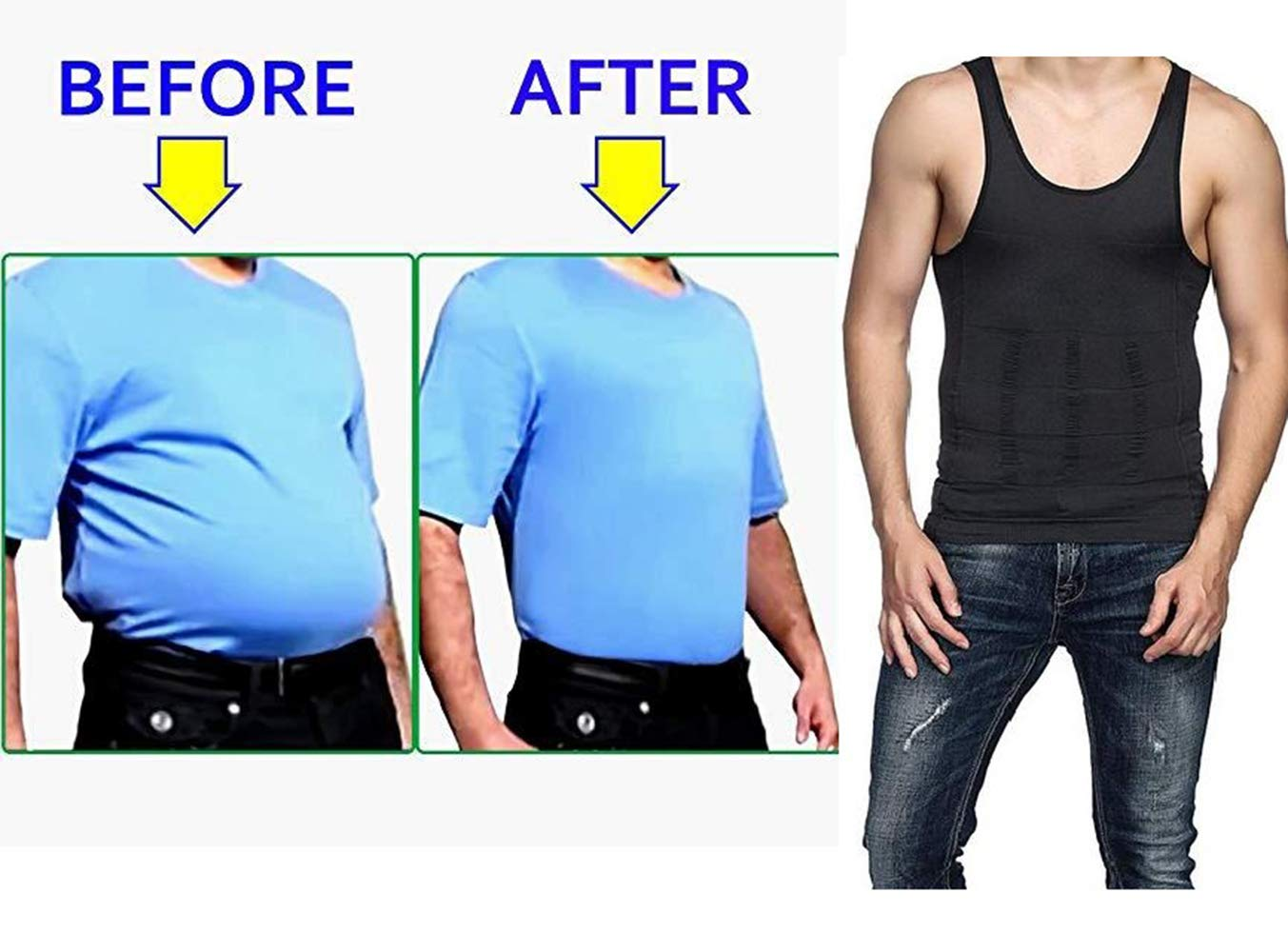 Amazon Coupon Code For Goldxiong Men S Slimming Body Shaper