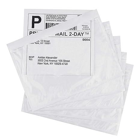 Amazon.com: Paquete de 200 bolsas de etiquetas autoadhesivas ...