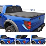 Tyger Auto TG-BC3D1045 T3 Tri-Fold Truck Tonneau Cover Works with 2019 1500 New Body Style | Without Ram Box | Fleetside...