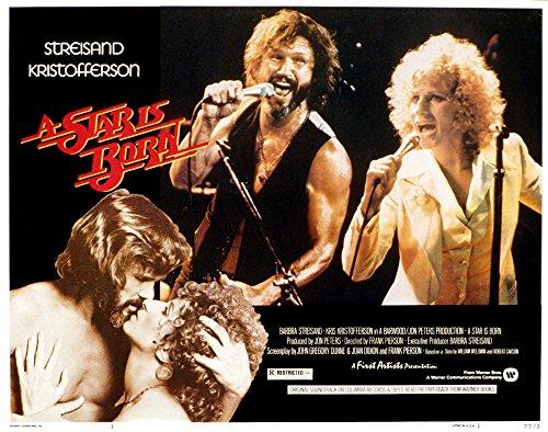 Posterazzi Star is Born A Kris Kristofferson Barbra Streisand 1976 Movie Masterprint Poster Print, (28 x 22)