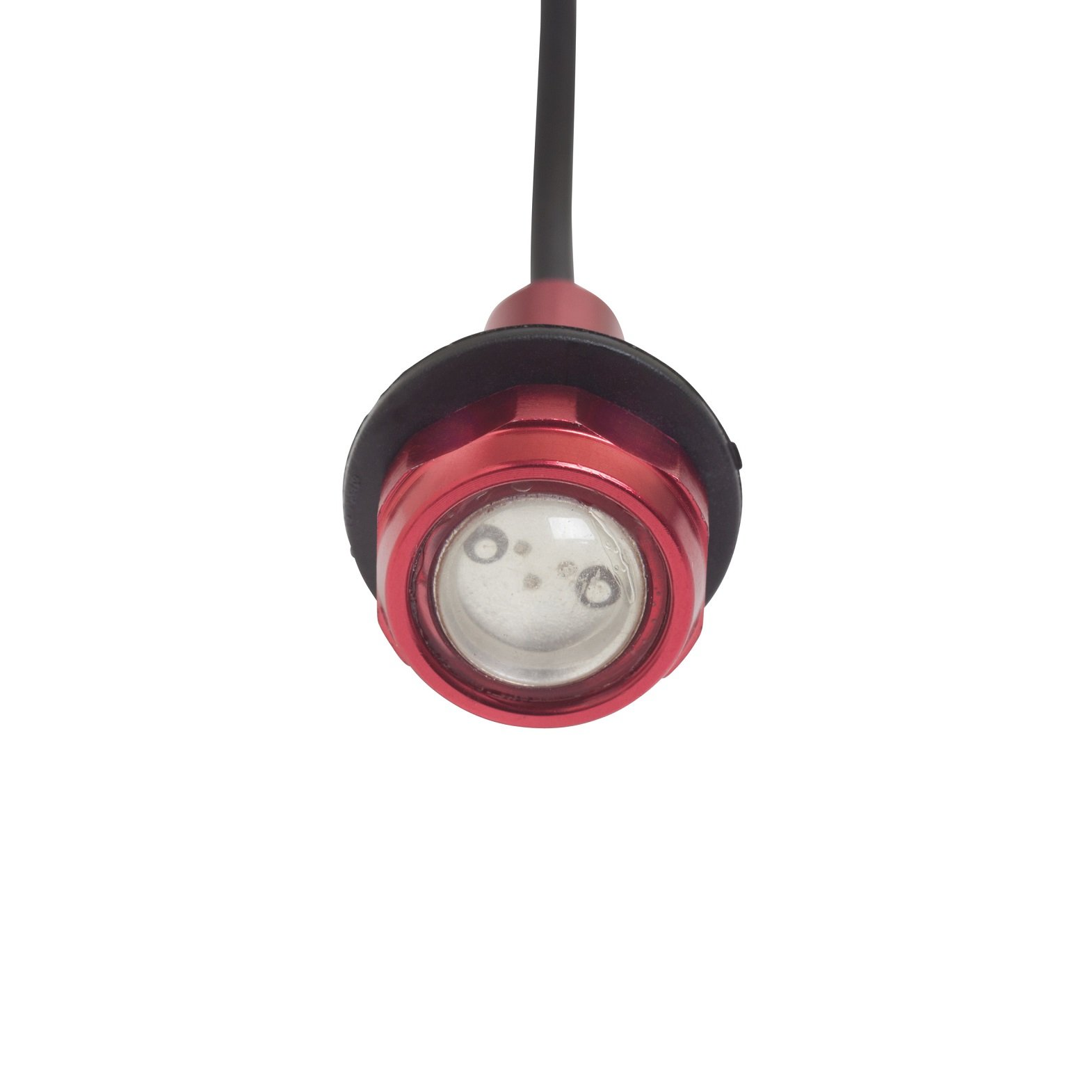 Yak-Power Super Bright LED Button Light Kit Red (2pcs) by Yak-Power