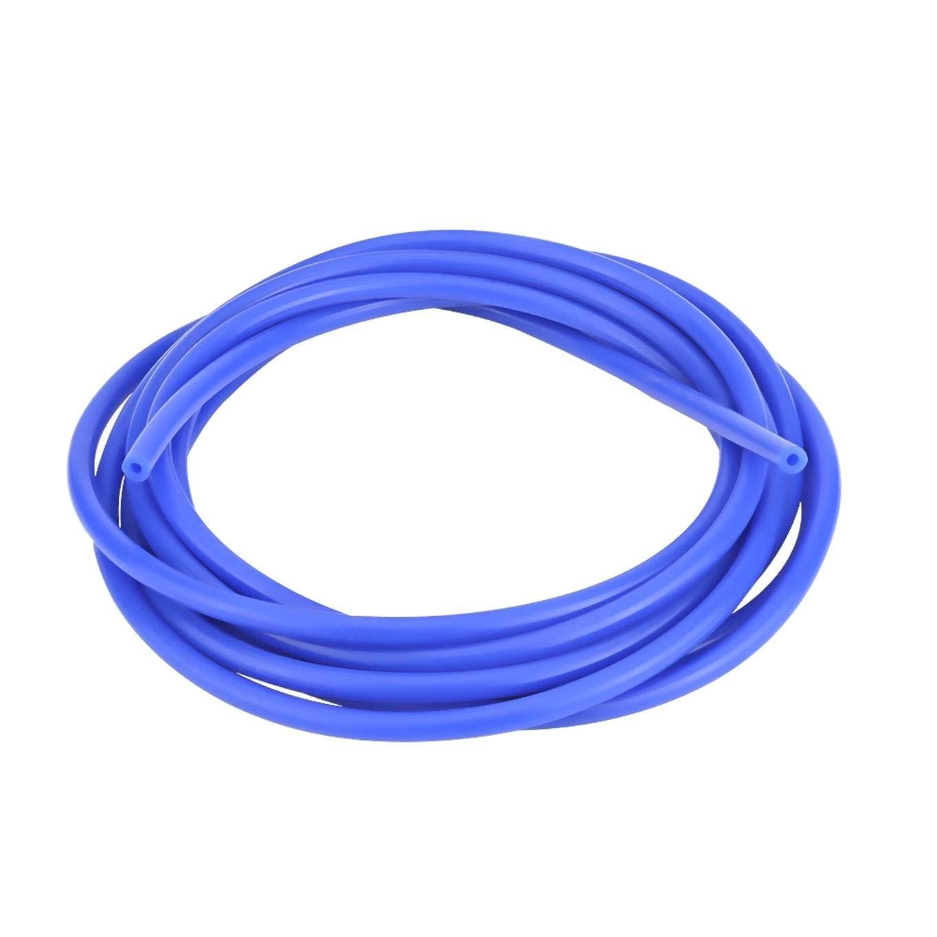 Tubo in Silicone Blu Tubo per Tubi in Silicone ZXYAN Tubo Universale per Auto in Silicone da 5 Metri 4 mm